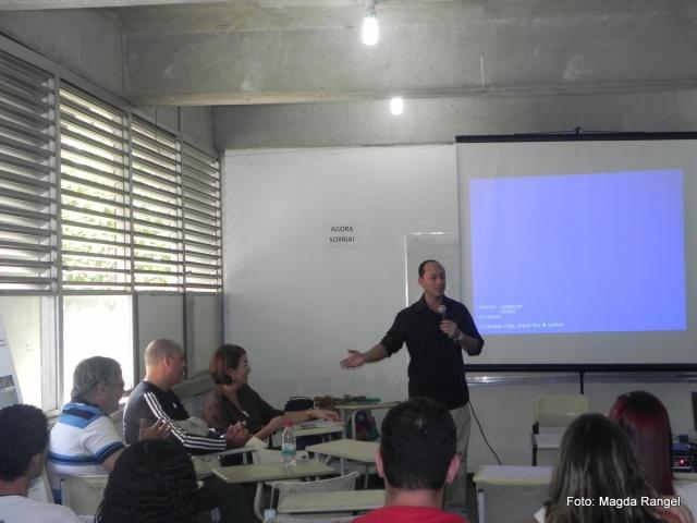 Apresentação do Prof.º Msc. Washington Luiz Raposo da Silva, coordenador de área do Projeto PIBID / CEFET.