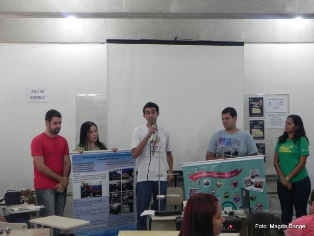 Apresentação dos alunos da UERJ.
